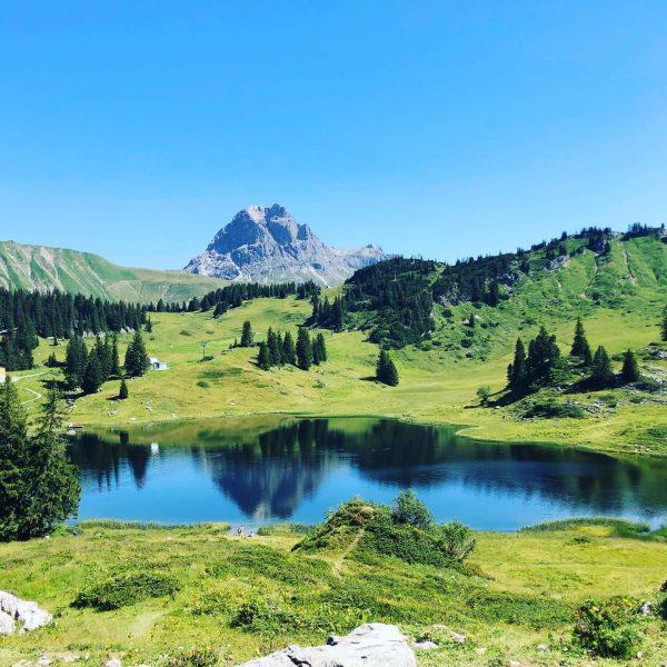 Bilderbuchtage ⛰am Arlberg 🤩 - heute führte uns unser Weg 👣 von Oberlech ...