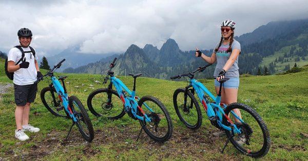 Willst auch du einen tollen Tag erleben? Unser Tipp: Mit dem E-Bike durch ...