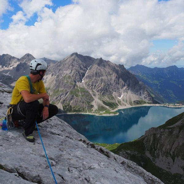 #kirchlespitz #climb #lünersee #climbing #alps #schweizertor #österreich #vorarlberg #montafon #rellstal #beautiful #silvrettamontafon #mountains ...