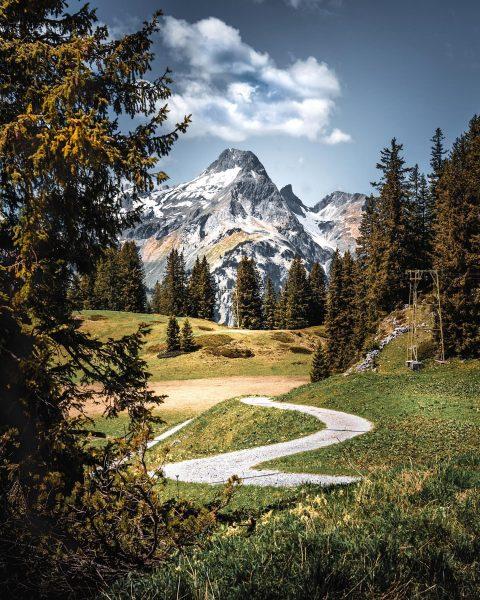 ⛰ . . . . . . #mountainview #austrianalps #warthschröcken #alps #landscapephotography #landscapelovers ...