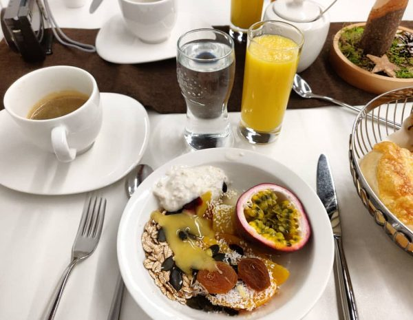 Frühstück 🍞🧀🥝 Hotel am Garnmarkt