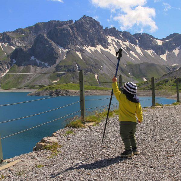 Lang lebe der König 😁 #lünersee #langlebederkönig #urlaub #urlaubmitkind #wanderlust #wanderurlaub #hiking #hikethealps ...