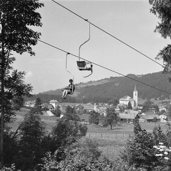 I came. I saw. Back in time. #throwbackthursday Who guesses which chairlift you can see here? #goodolddays...