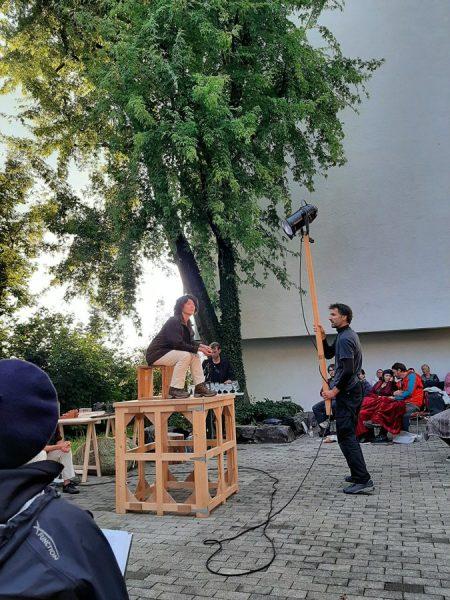 Anja Neumann - #vorarlbergerkulturpicknick in St. Arbogast mit Café Fuerte #venividivorarlber