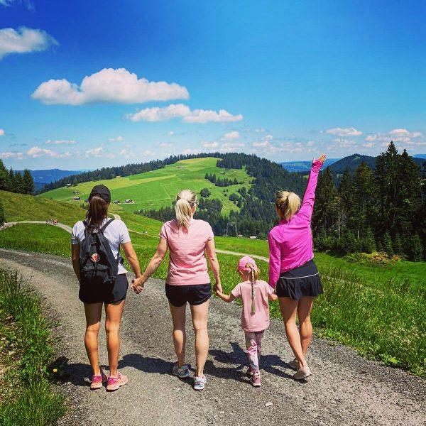 Sunday funday hiking time... ⛰ . . . #visitvorarlberg #bödele #hikingtime #family #feelingblessed ...