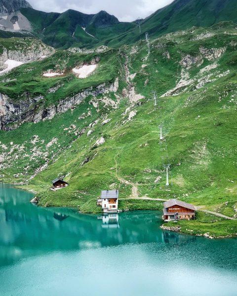 .... und noch ein schöner Bergsee😍 Zürser See auf 2144 m 🇦🇹 #mountainvibes #hiking #hikingculture #austria #alps...