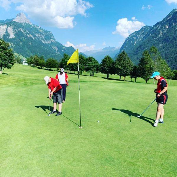 Freitagsrunde @special_olympics_vorarlberg @golfclub Bludenz-Braz Golfclub Bludenz-Braz