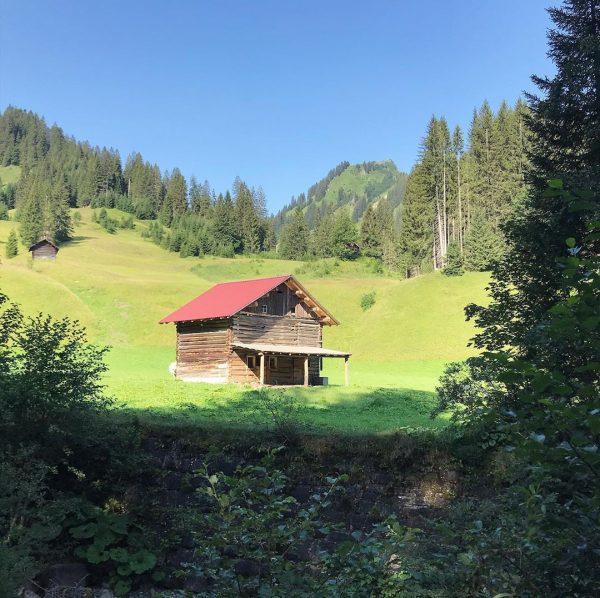 Unser Tag in Bildern... #kleinwalsertal #bärgunthütte #bärgunttal #baad #kleinwalsertaltravel #kleinwalsertalliebe #walmerdingerhorn #panorama #wandern ...