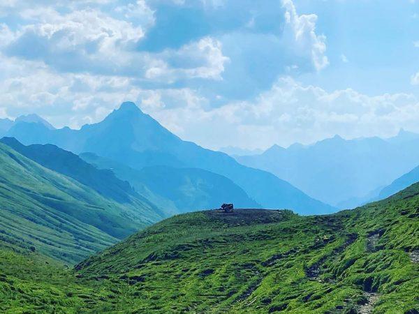 Umrundung des Großen Widderstein - am Hochalpenpass #kleinwalsertal #widderstein #widdersteinhütte #großerwidderstein #baad #gipfelglück ...