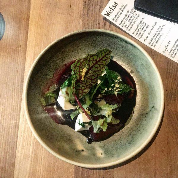 Urlaubsstart #okgo #weissrestaurant #brutalgut #danke Weiss Restaurant