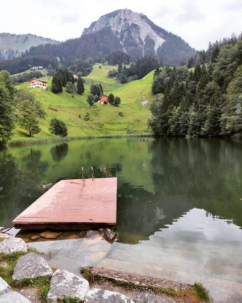 Seewaldsee in Fontanella, schöner Badesee Fontanella