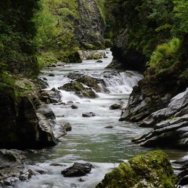 Entlang der #Breitach #kleinwalsertal #gebirgsbach #wasser #naturephotography #allgäu