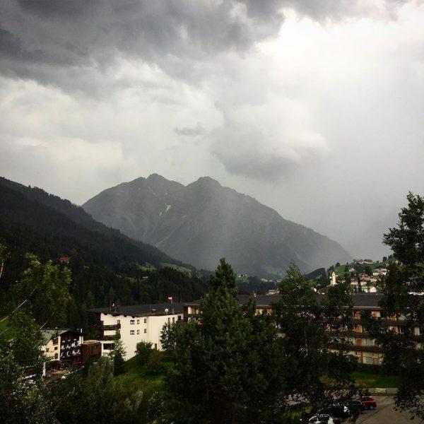 Weather conditions #austria #kleinwalsertal #holyday #holydayseason #summer #weather #weatherforecast Hirschegg, Vorarlberg, Austria