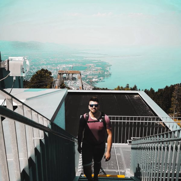 SUMMER VIBE🌞🧗🏼♂️ #pfänderspitze #pfänderbahn #visitbregenz #visitvorarlberg #austria🇦🇹 #bodensee #hikingadventures #summerday Bregenz (Austria) - ...