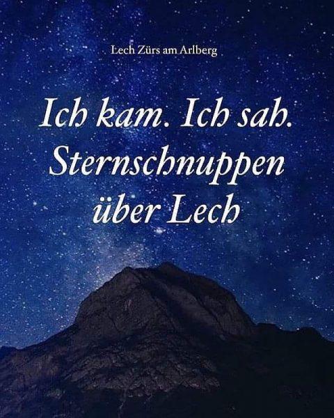 Alle Jahre wieder! 💫 Sternschnuppen beobachten auf 2.350 m über dem Meer. Kommenden Sonntag, den 09. August,...