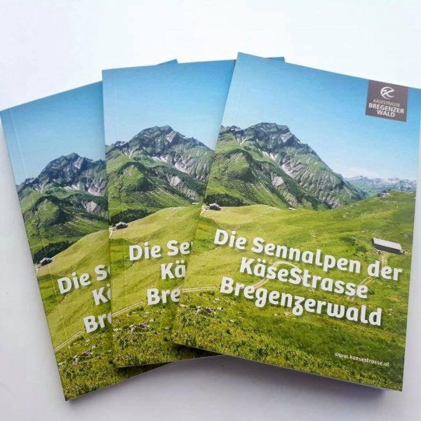Die 37 Sennalpen der KäseStrasse Bregenzerwald präsentieren sich in unserer neuen Broschüre. Besucht ...