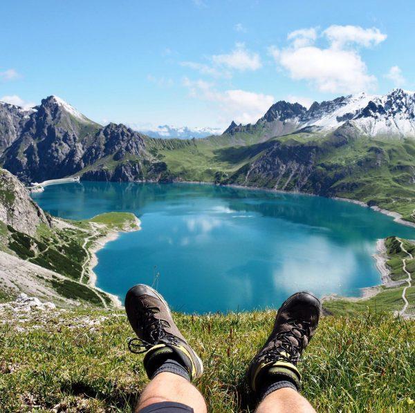 #brandnertal #visitvorarlberg #mountainlove #lünersee #urlaubinösterreich Brand, Vorarlberg, Austria