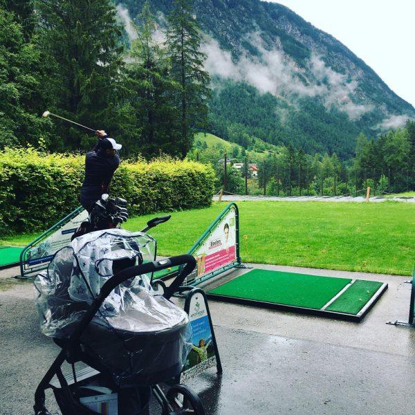 Golfen mit Papa Golf Club Brand - Golfpark mit 18 Spielbahnen