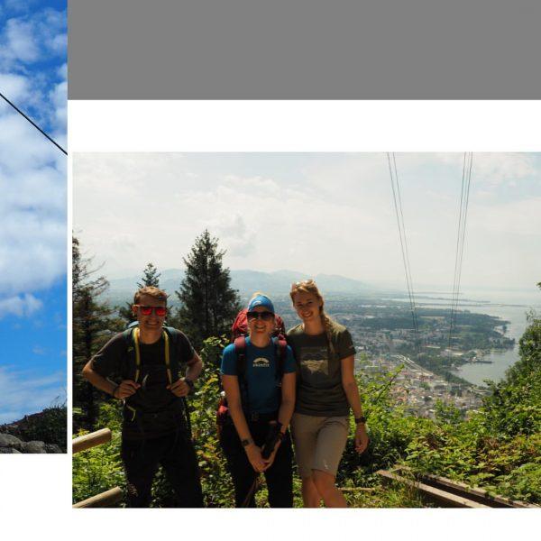 >Min Weag< Etappe 1: Von Bregenz zum Pfänder . . . . . ...