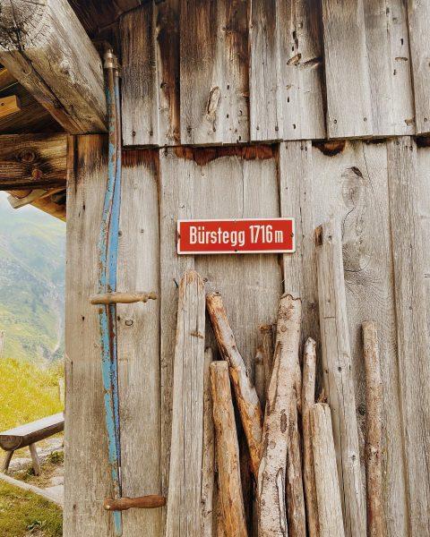 Unser Wandertipp der Woche ist das idyllische Bürstegg. 14 Familien lebten 1850 noch ...