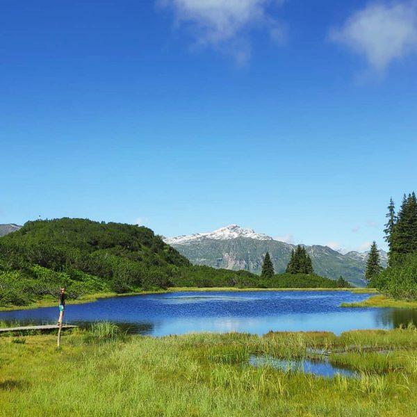 Paradies gefunden🏞❤ . . . #mountains #mountainview #view #lake #bergsee #hikinglove #hiking #montafon ...