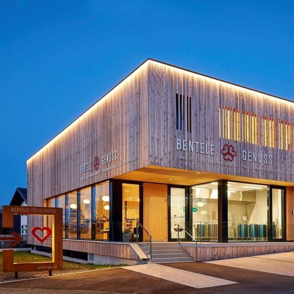 Bentele Genuss in Alberschwende: Der Betrieb ist bekannt für Regionalität und befindet sich ...