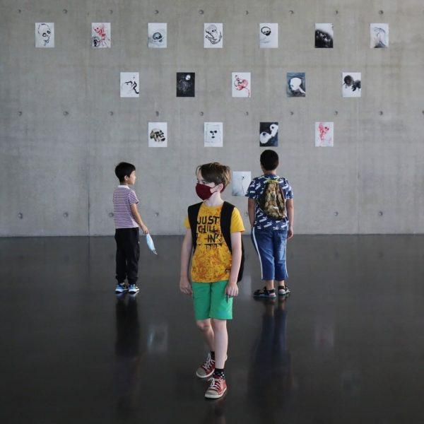 The summer workshop for kids »Kunst kennt keine Grenzen/ Art knows no limits« ...
