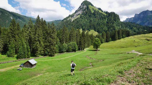 Hiking around in Schönenbach 📸 by @deembase #venividivorarlberg #visitbregenzerwald #bregenzerwald #vorarlberg #schönenbach #bezau ...