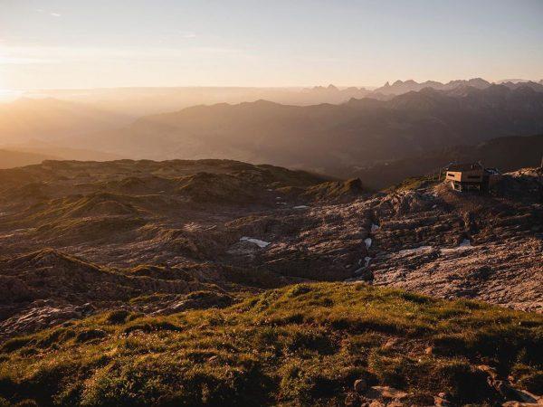 Das Gottesackerplateau bei Sonnenaufgang. I like it 😍 #visitaustria #kleinwalsertal #sunset #landscape #amazing ...