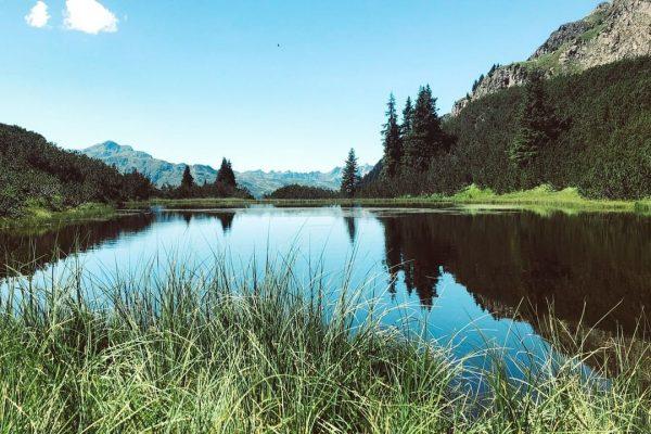 📌Wandertipp: Zum Wiegensee 🥾 Eine leichte Wanderung von der Bergstation der Tafamuntbahn durch ...