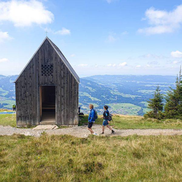 Die Region Bregenzerwald bietet nicht nur grandiose Natur, sondern auch viel spannende Architektur, ...