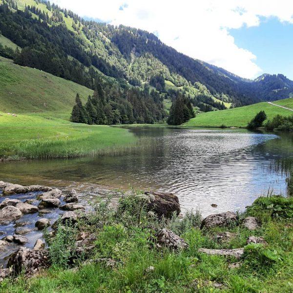 Unterwegs im Lecknertal Der Lecknersee ist ein guter Ausgangspunkt für Wanderungen auf die ...