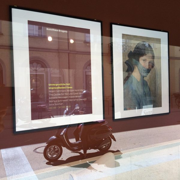 Observing... #kunsthausbregenz #unprecendetedtimes #visitbregenz #artduringcovid19