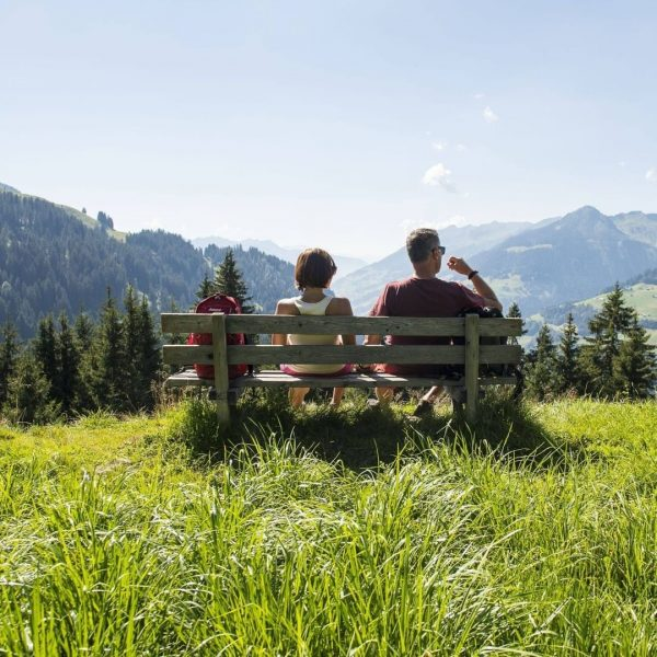 𝐈𝐜𝐡 𝐤𝐚𝐦. 𝐈𝐜𝐡 𝐬𝐚𝐡. 𝐃𝐢𝐞 𝐖𝐨𝐡𝐥.𝐙𝐞𝐢𝐭. Urlaub im Biosphärenpark Großes Walsertal bedeutet, Ruhe und Zeit für sich...