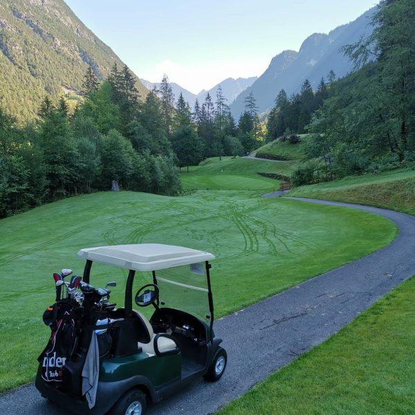 Afwisseling... Vandaag rondje golfbaan.😎 Golf Club Brand - Golfpark mit 18 Spielbahnen