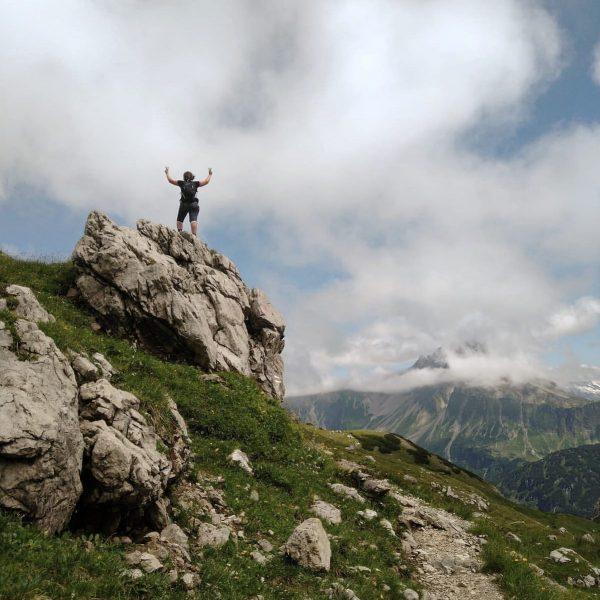 #mindelheimerhütte #geißhorn #bregenzerwald #warthschröcken #lifeisbetterinthemountains #wandernmachtglücklich #sonnenbrand Mindelheimer Hütte