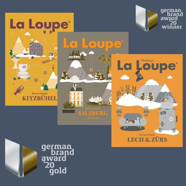 @laloupemagazine gewinnt gleich doppelt beim GERMAN BRAND AWARD 🥇 🥈 2020!!Jurybegründung: La Loupe ...