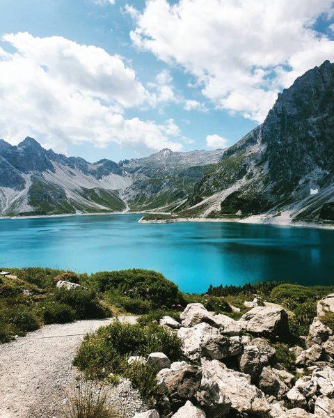 1/6 Austria - lo and behold: mountain spam incoming ⛰ #vacay #lünersee #brandnertal #schweizertor #austria #österreich #vorarlberg...