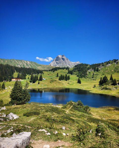 Das Leben in den Bergen kann so herrlich sein! 🗻 Trotz Hitzewelle bleibt ...