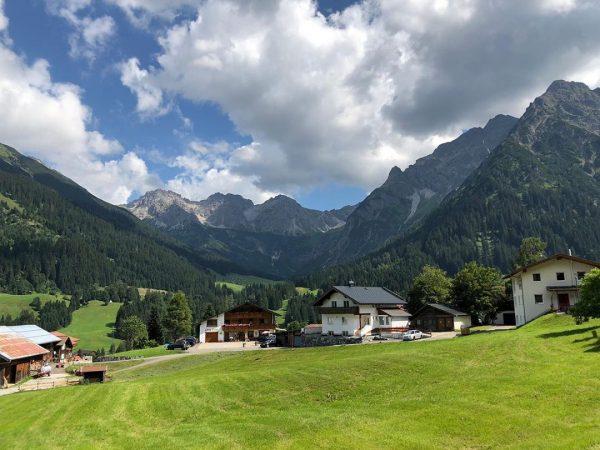 Kleinwalsertal - where I would rather be ❤️ Kleinwalsertal Österreich