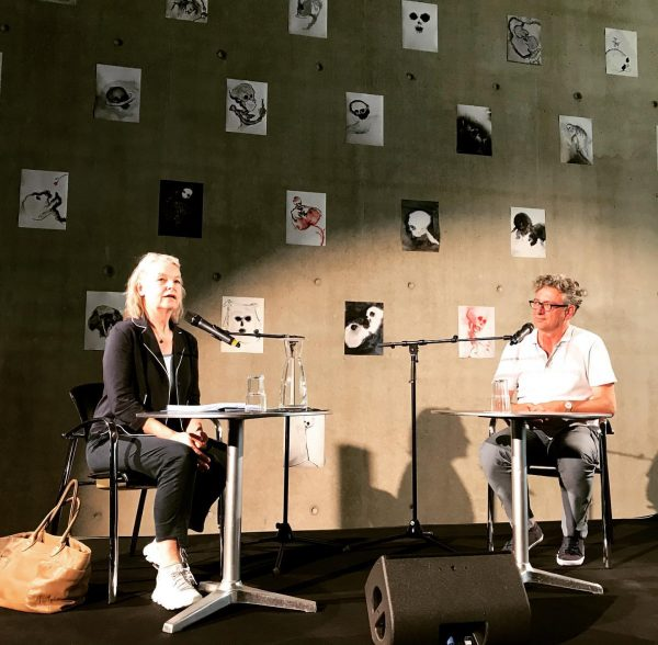 #marlenestreeruwitz #jürgenthaler #kunsthausbregenz #reading #covid_19 #novel #annettemessager Kunsthaus Bregenz