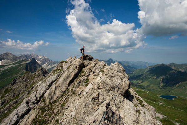 Ich kam ich sah den klettersteig. #venividivorarlberg #klettersteig #bergliebe #sonntag #urlaub #sommerzeit #bergzeit ...