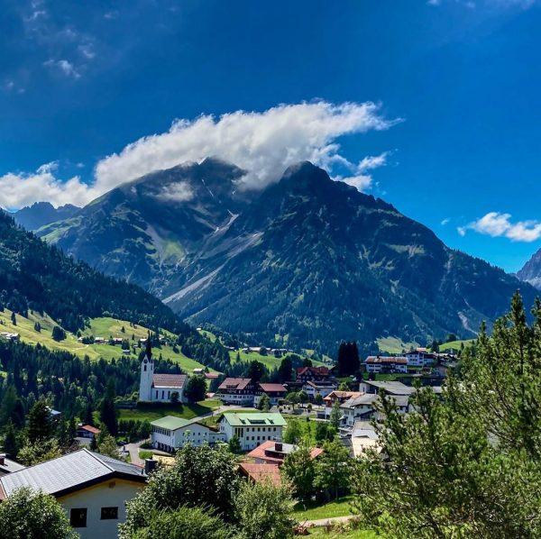 #Kleinwalsertal Hirschegg, Vorarlberg, Austria