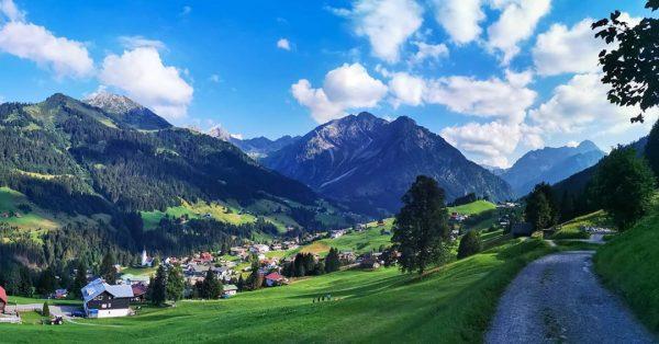 Urlaub im Kleinwalsertal #kleinwalsertal #allgäueralpen #Allgäu #bergwelten #naturephotography #wandern Hirschegg, Vorarlberg, Austria