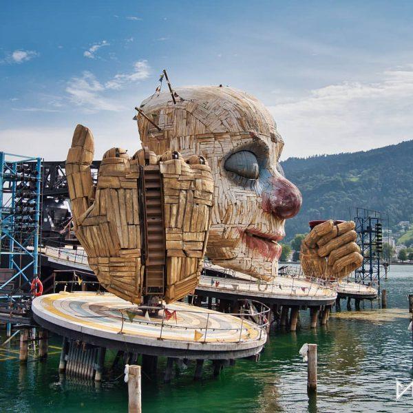 Send in the clown... #visitvorarlberg Bregenz Bodensee Östereich -