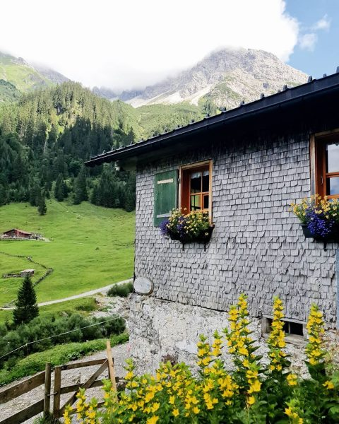 🧭⛰ #kleinwalsertal #gemstelalp #österreich #alm #alpen #oberstdorf #mittelberg #austria #kaiserschmarrn #sommerurlaub #wandern #sommer ...