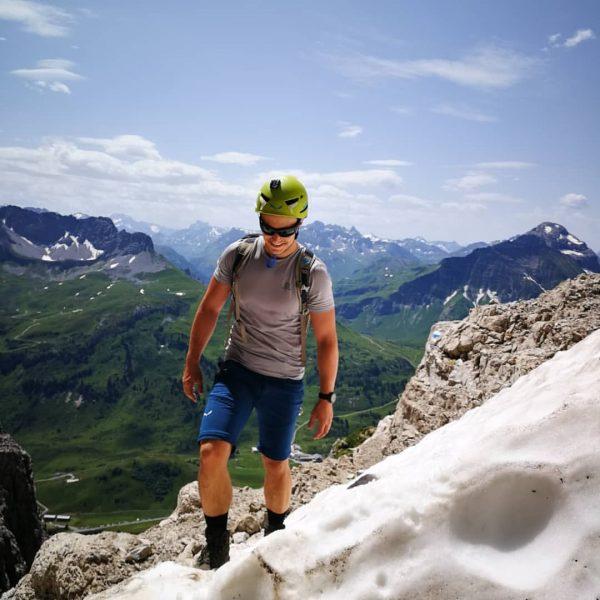 ⛰️ Widderstein (2533m) #mountains #hiking #withmybabe #nature #instanature #mountainlove #summit #peak #sun #clouds ...