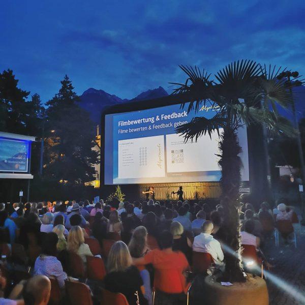 Film ab! 🎬🎬 Das 35.@alpinale_kurzfilmfestival hat gestartet! Mehr Infos unter www.alpinale.at Remise Bludenz