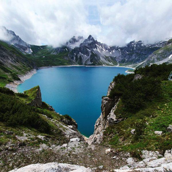 #österreich #see #lünersee #austria #mountain #travel #nature #lindauerhütte #wandernzurlindauerhütte #wandern Lünersee