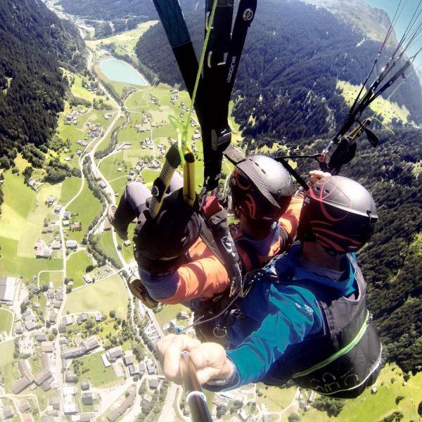 Mein erster Tandemflug - ein unbeschreibliches Gefühl 😍 ▪️ #meintraumtag #ortovox #tb #paragliding ...